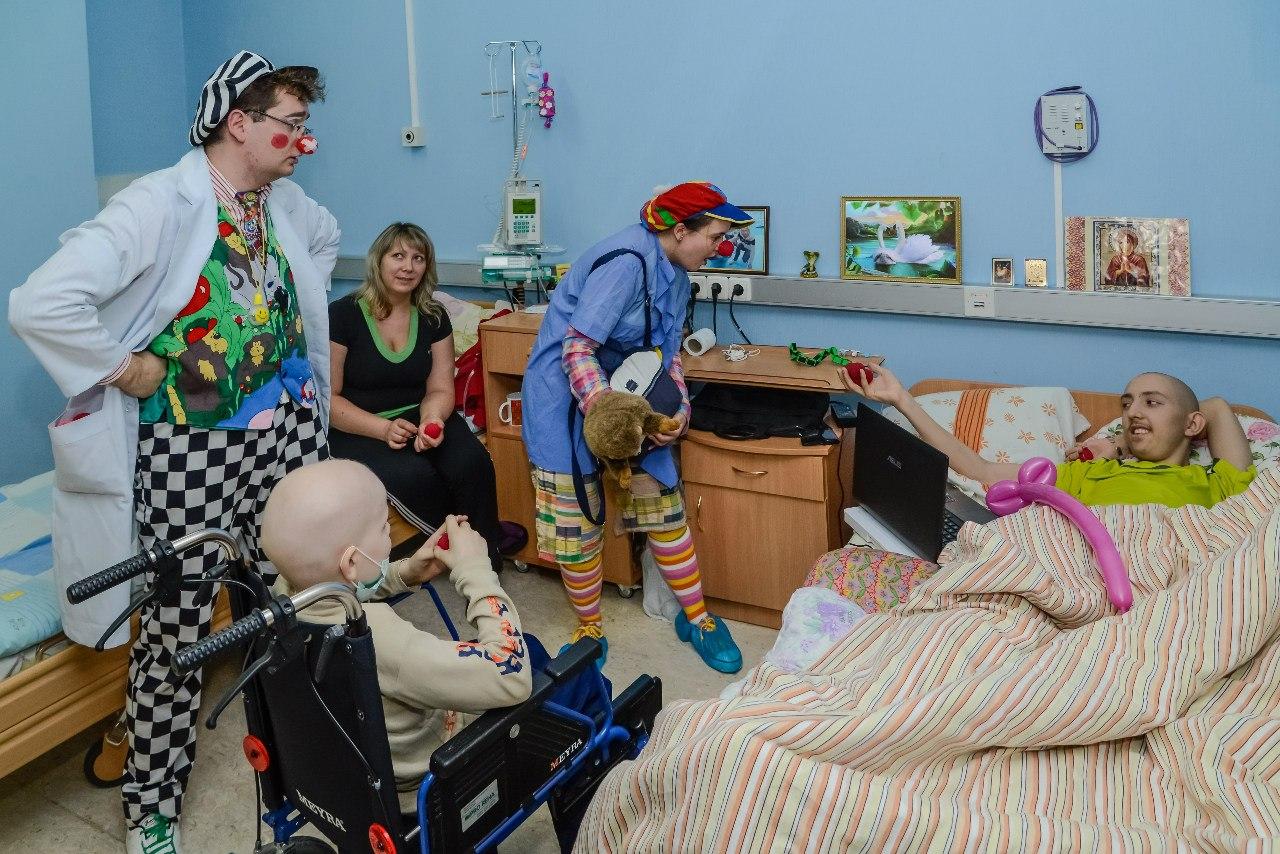 Лікарняні клоуни в Україні