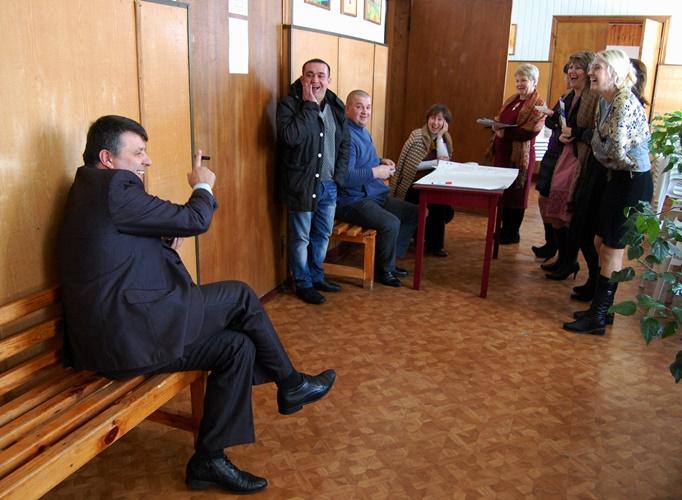 Селищний голова Іванкова Олександр Поліщук