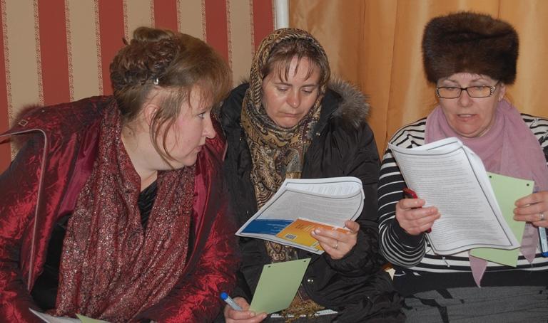 Жінки села Сукачі обмірковують ідеї розвитку громади